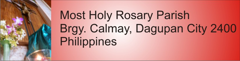Most Holy Rosary Parish  Calmay, Dagupan City