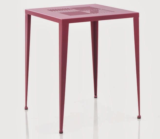 mesa de jardin forja, mesa colores forja, mesa decoracion exterior