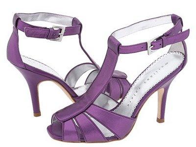 Latest Purple wedding shoes