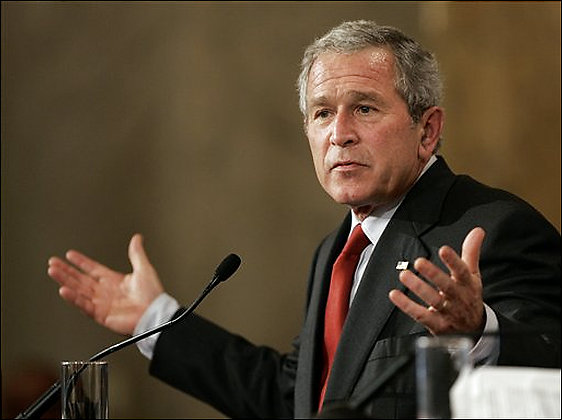Bush doesn't know