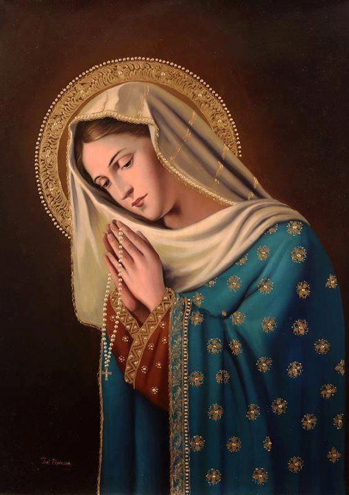 visitando Virgen esclavitud