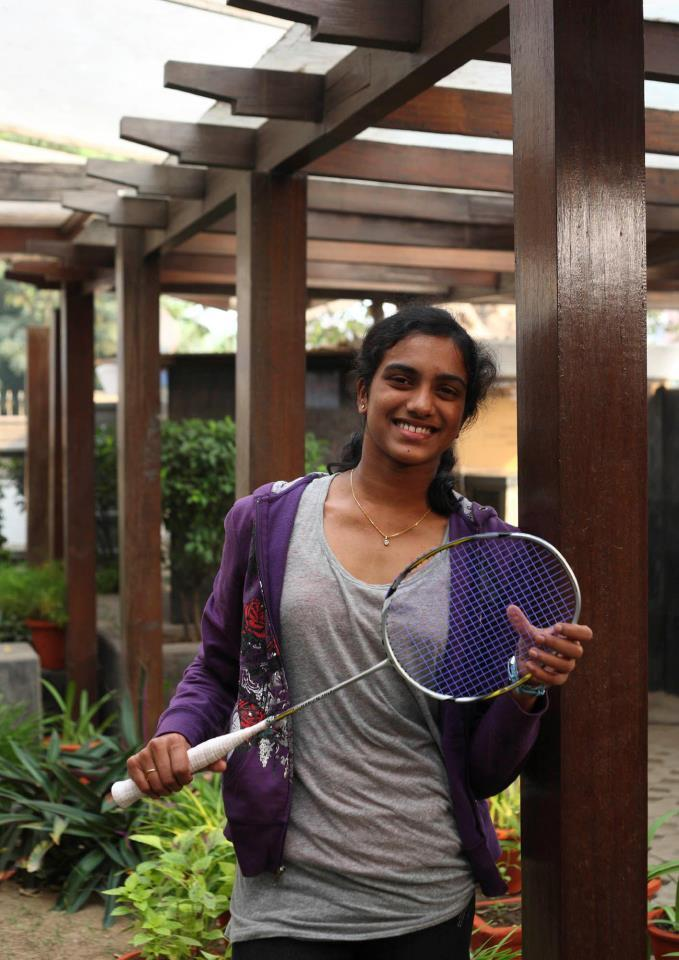 Photo of Indian Badminton Player PV Sindhu
