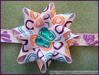 Flower Hair Bow Craft