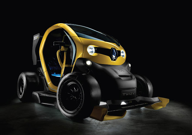 Twizy Renault Sport F1 Concept: The Spawn of an F1 Car and a Golf Cart