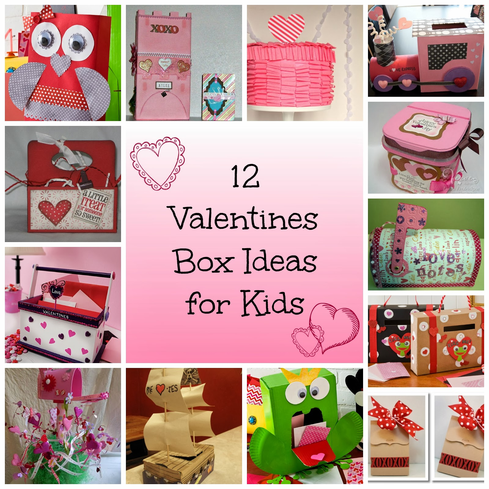 12 valentine box ideas for kids its a princess thing - Valentine Boxes For Girls