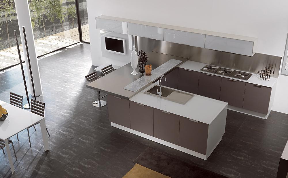 Cocina Con Un Aire De Loft - Cocinas Tipo Loft - Mimasku.com