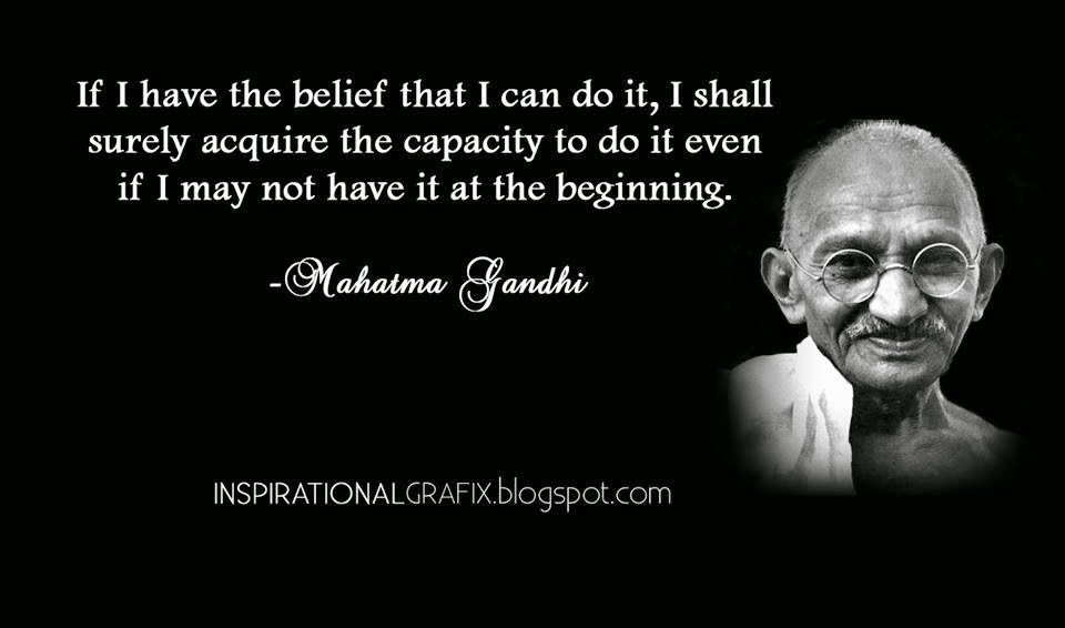 the greater aims of ghandi Selected quotes of mahatma gandhi the force generated by nonviolence is infinitely greater than the force of all the arms created by man's ingenuity.