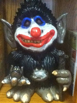 Clown juggalo garden gnome