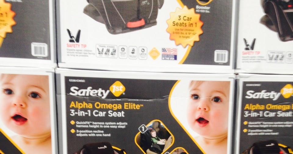 Safety 1st Alpha Omega Elite 3 In 1 Car Seat CC061CWGC