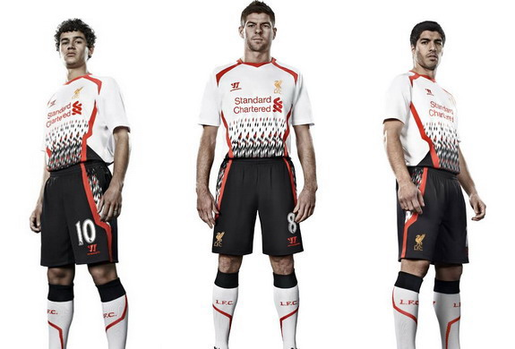 The 2013/14 Liverpool away kits has been unveiled to negative feedback from fans