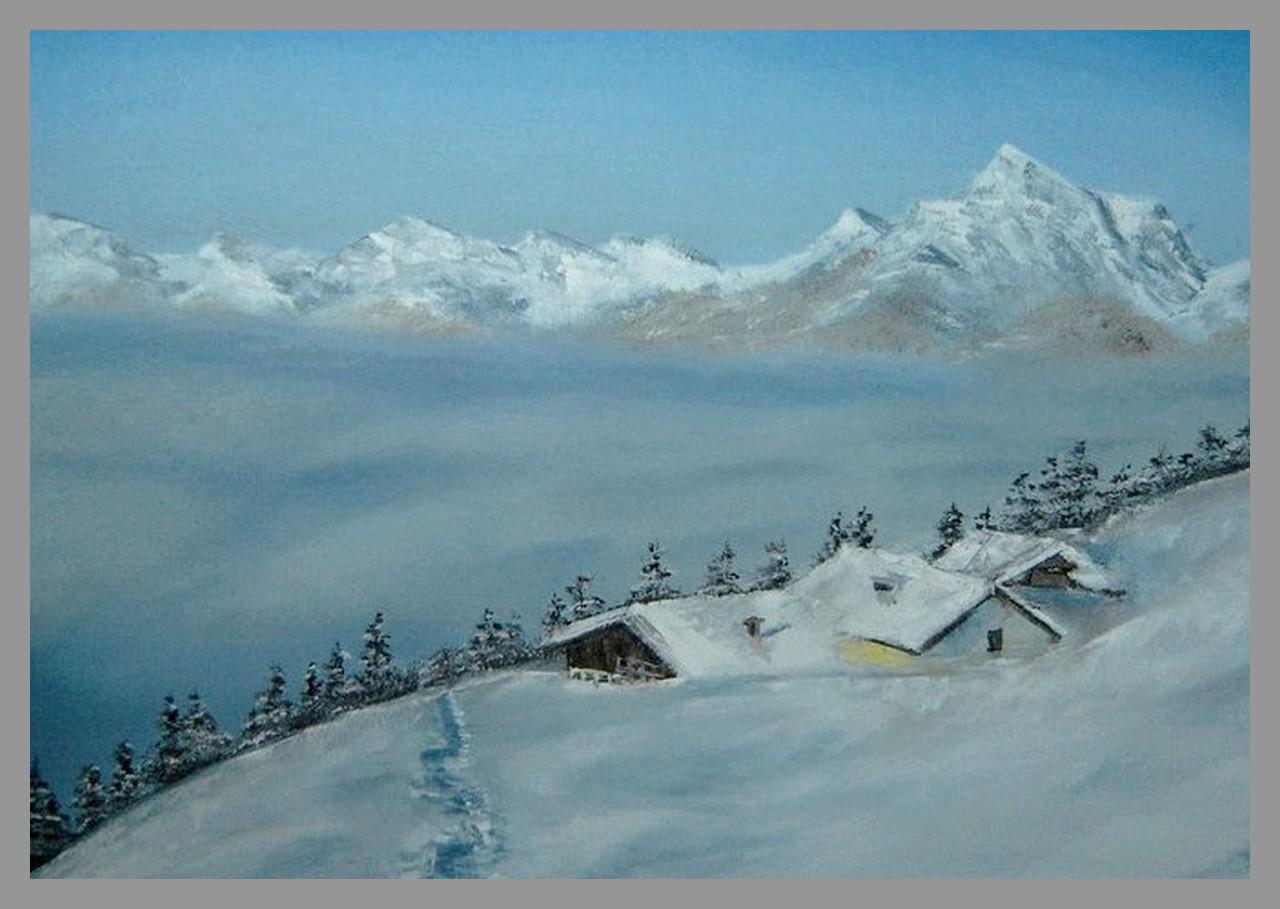 Welt im schnee malerei und zeichnungen anleitungen fotografie - Was kochen wenn man nichts im haus hat ...