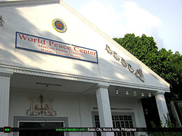 World Peace Center Batac | 15 Mins. at Marcos' Giant Indoor Mosaic