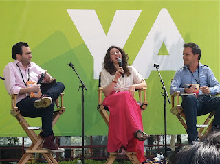 LA Times Festival of Books  Abby McDonald YA Panel