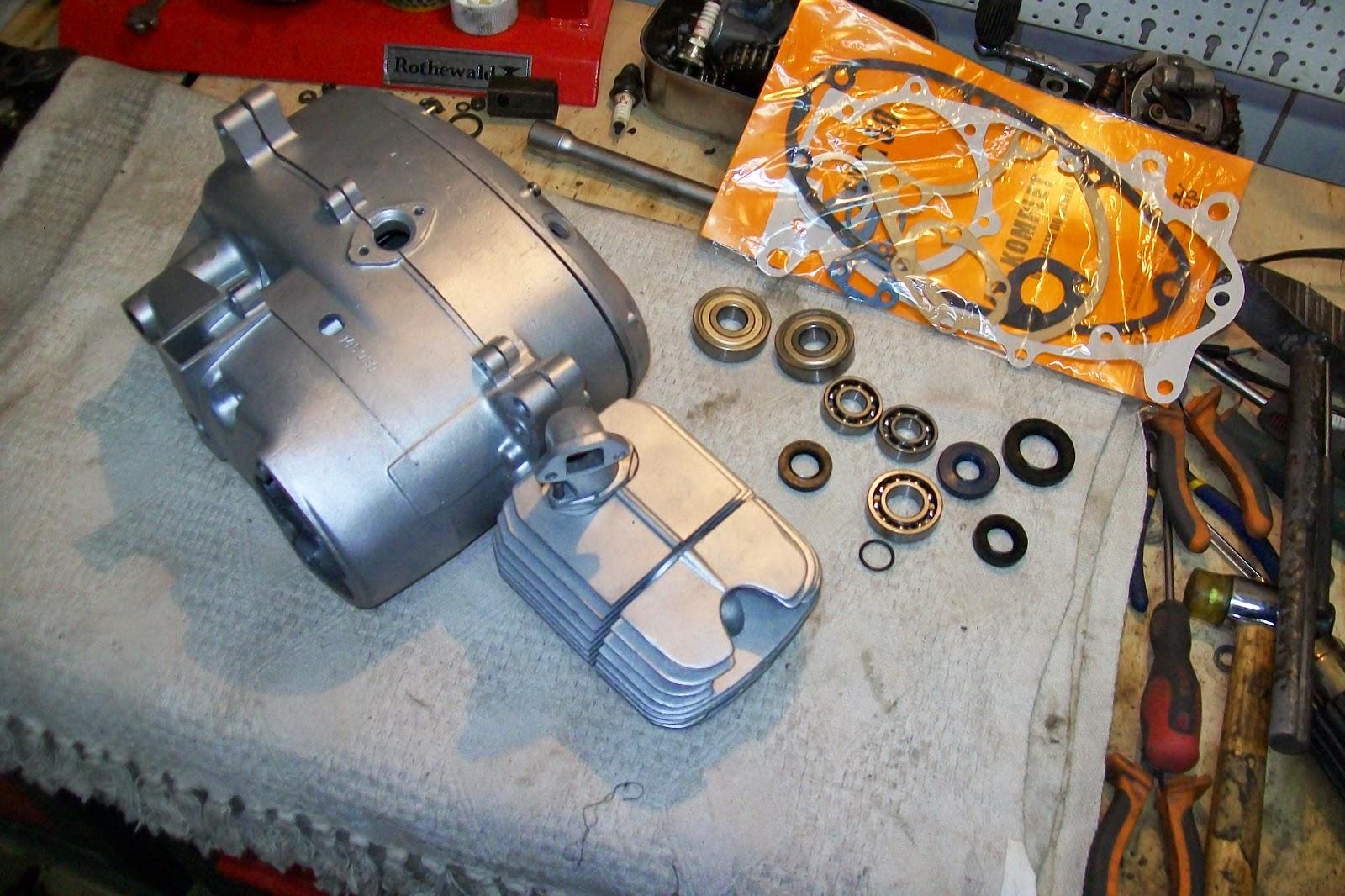 Jawa obudowa silnika po renowacji