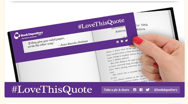 book depository quotemarks