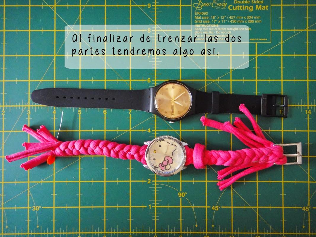 DIY- Correa de reloj - Paso 5