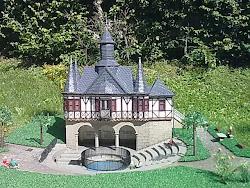 Modell der Mühlhäuser Popperöder Quelle