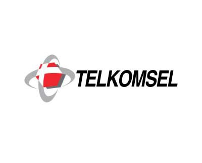 telkomsel logo vector cdr