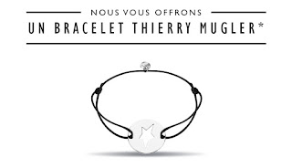 Bracelet Thierry Mugler offert chez Sephora !