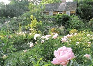 Tasha Tudor's Garden by Tovah Martin, photographed by Robert Brown as seen on linenandlavender.net, see full post:  http://www.linenandlavender.net/2012/06/flowers-in-profusion-tasha-tudors.html
