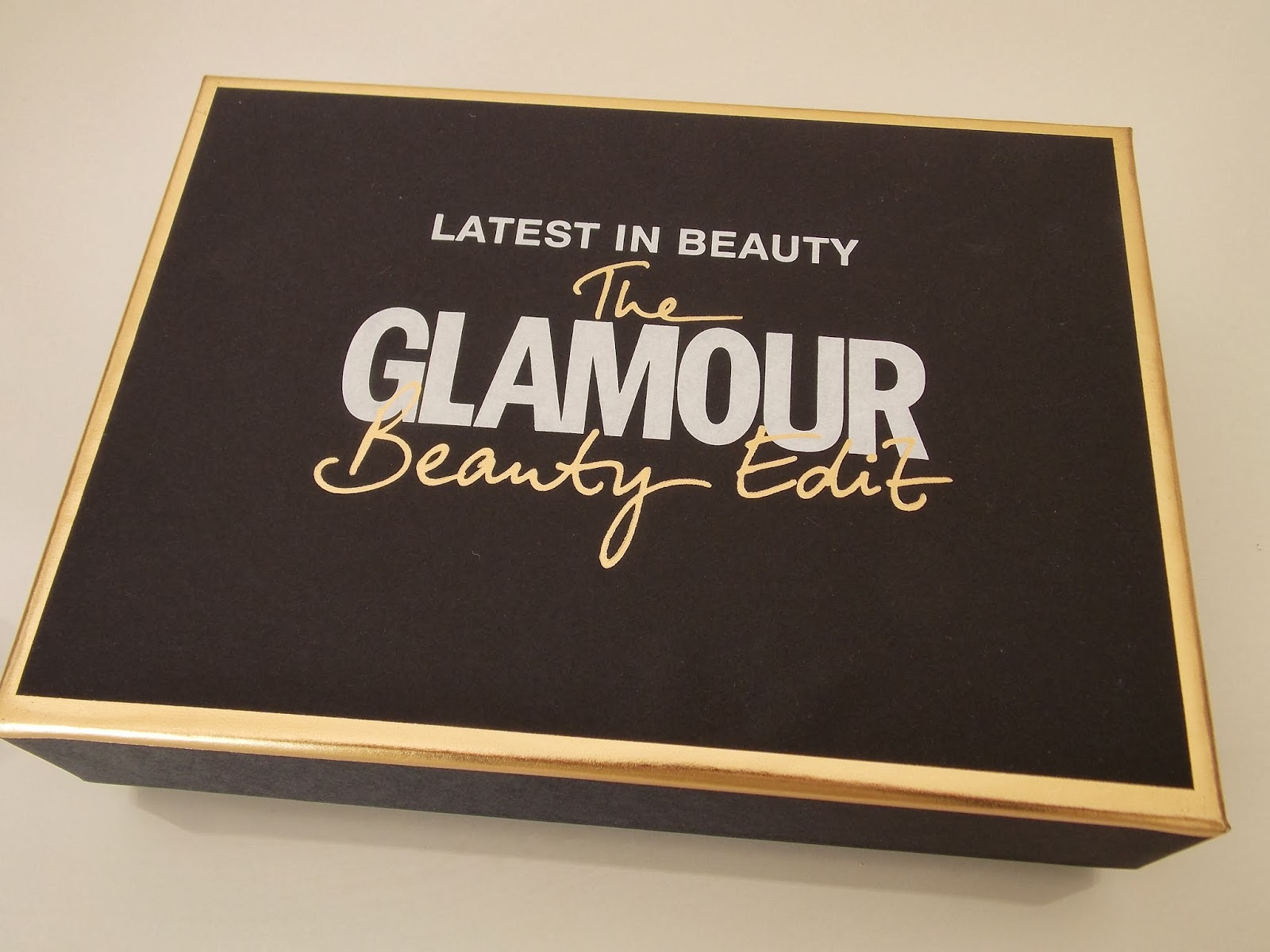 Latest in Beauty: Glamour Beauty Edit the box
