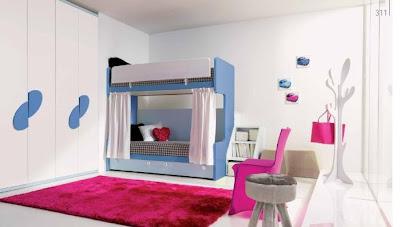 habitaciones niños literas