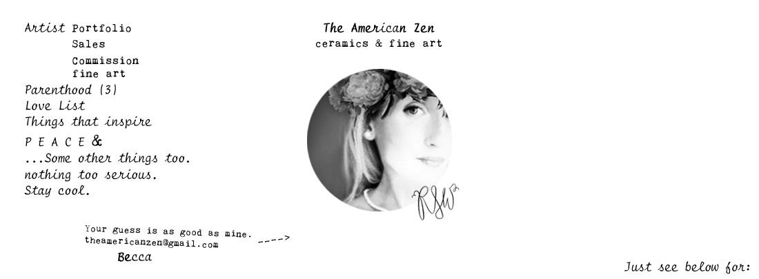 The American Zen