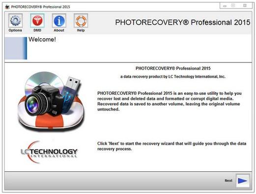 LC Technology PHOTORECOVERY 2015 Pro v5.1.2.4