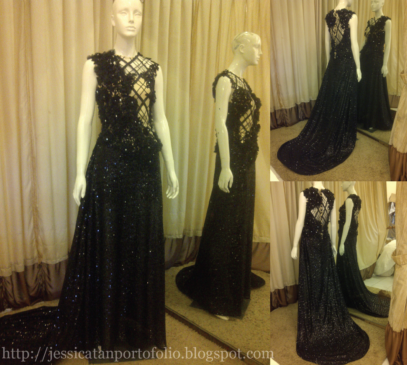Jessica Tan: EVENING GOWN