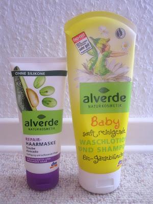 Sanftes Shampoo und Silikonfreie Haarkur von DM