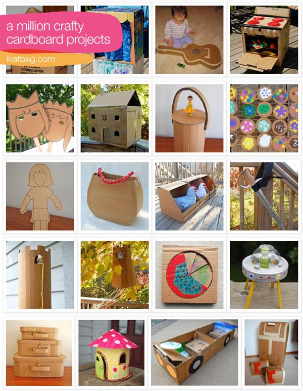 como construir todo tipo de juguetes de carton diviertete con los