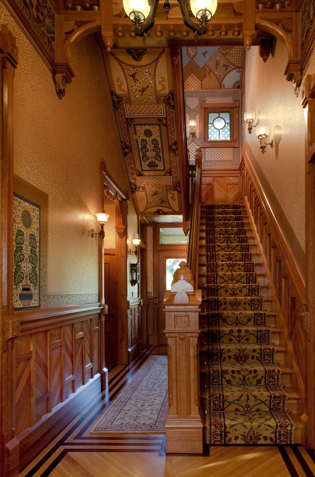Artistic License News Mcdonald Mansion The Formal Interiors At Mableton