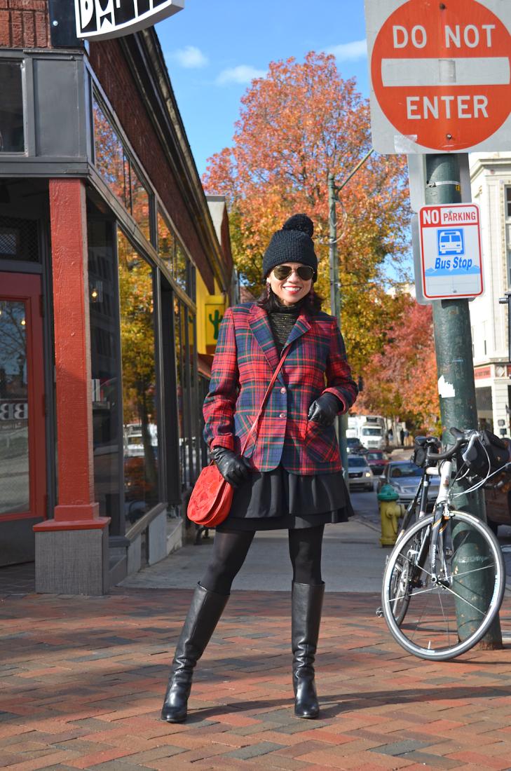 Tartan Jacket Street Style