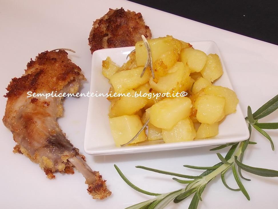 Semplicemente insieme coniglio al forno croccante - Forno e microonde insieme ...
