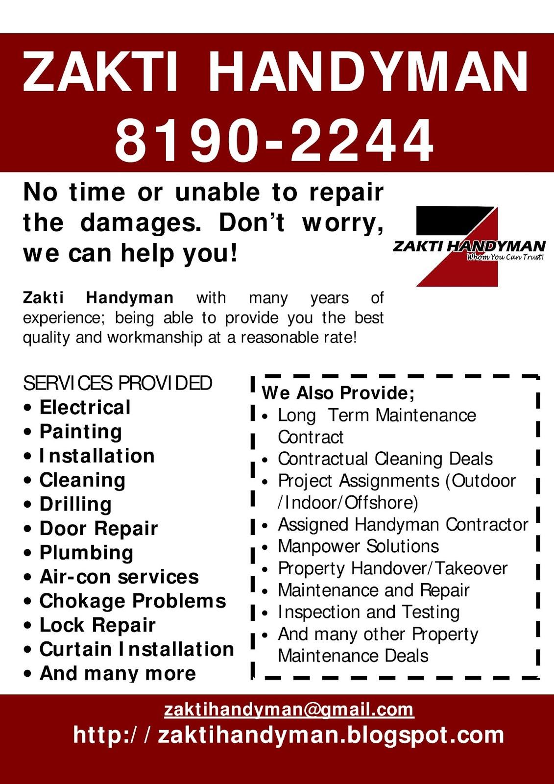 Zakti Handyman 8190 2244