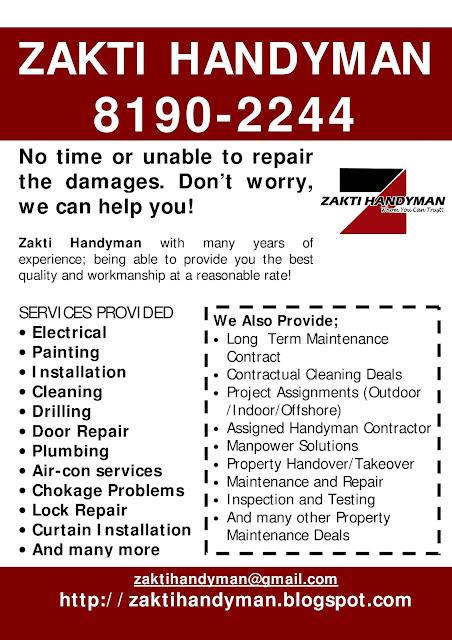 zakti handyman   8190