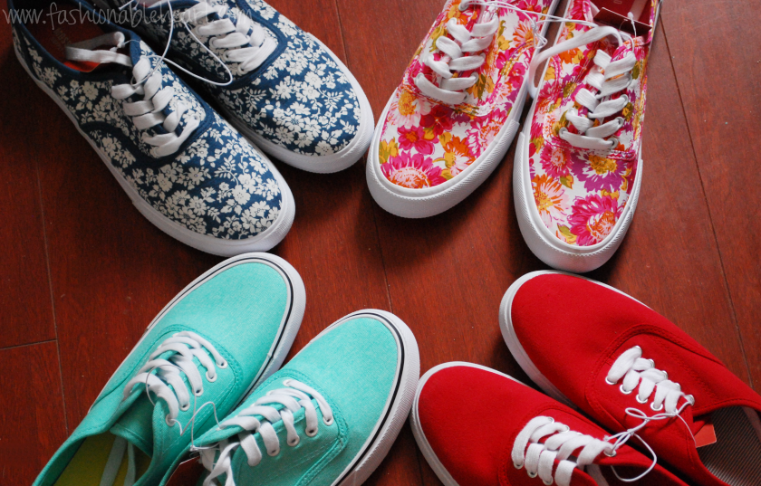 target canada clearance haul shoes sneakers floral