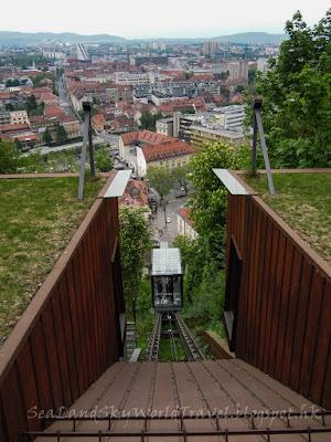 斯洛文尼亞, 盧比安娜, Ljubljana, 盧布爾斯基城堡, Ljublijanski Grad