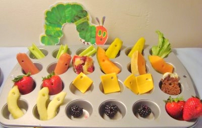 Cute Food For Kids?: 22 The Very Hungry Caterpillar inspired food ...