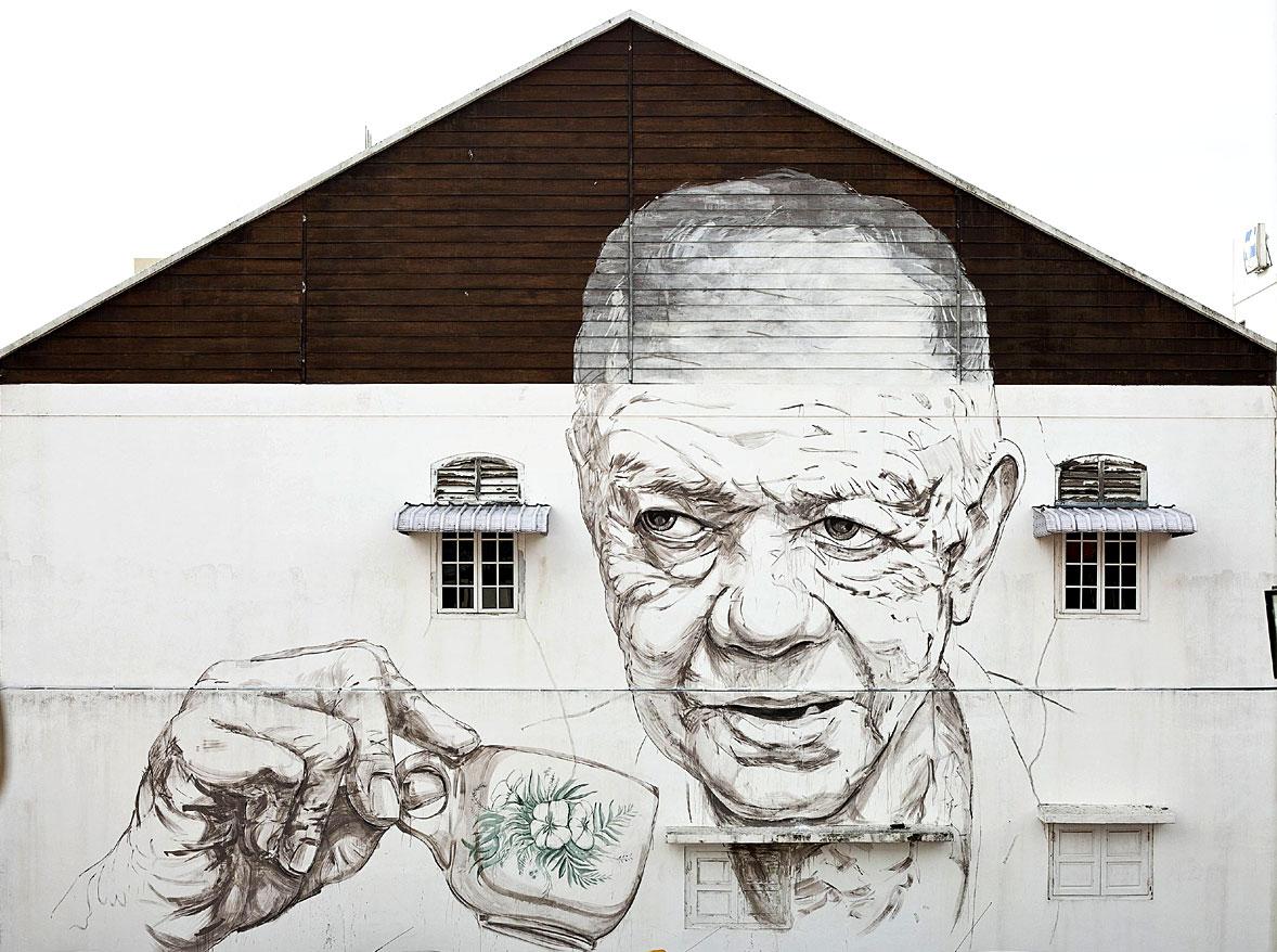Popular Street Art in Ipoh