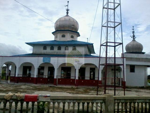 Masjid Dar As Sa'adah di desa Balimau