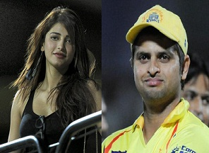 Shruti Haasan denies dating cricketer Suresh Raina