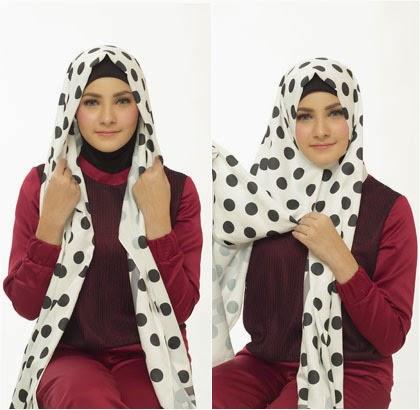 Cara Memakai Jilbab ala Wanita Turki