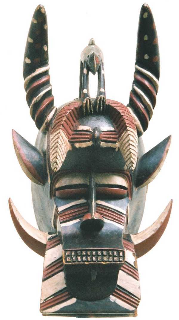 tribal mask quotes