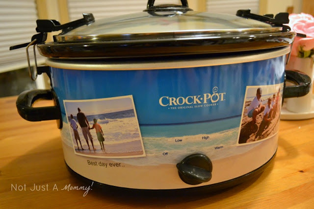 Crock-Pot Create-A-Crock beach design