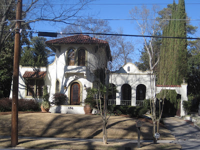 Pretty Old Houses Spanish Eclectic Houses In Atlanta