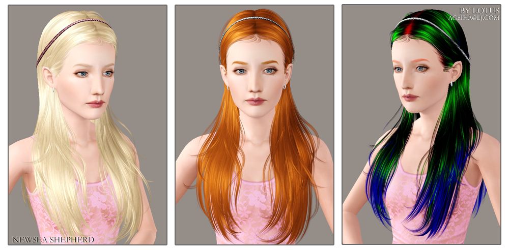 Free Newsea Hair Downloads Sims 3 Strongwindcat
