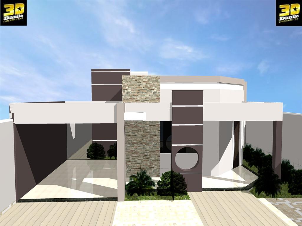 #B4A117  Eletrônicas 3D: FACHADA 3D CASA NO B  POR DO SOL GUANAMBI/BA 1024x768 píxeis em Criar Casas 3d