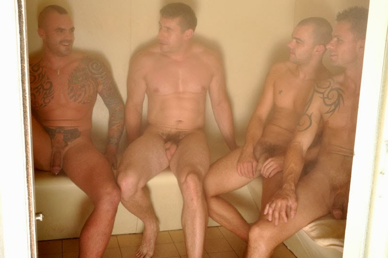 Men in saunas nude sorry, does