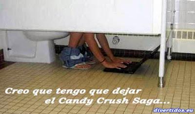 Creo que tengo que dejar el Candy Crush Saga
